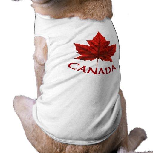 Recuerdo del mascota de Canadá de los regalos de l Playera Sin Mangas Para Perro