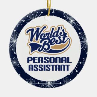 Recuerdo del navidad del regalo del ayudante perso adornos