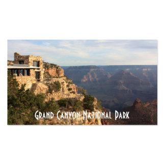 Recuerdo del parque nacional del Gran Cañón Tarjetas De Visita