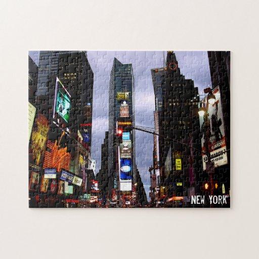 Recuerdo del rompecabezas del Times Square del rom