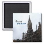 Recuerdo del viaje de ayuntamiento de Munich Alema Imanes Para Frigoríficos
