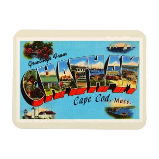 Recuerdo del viaje de Chatham Cape Cod Iman