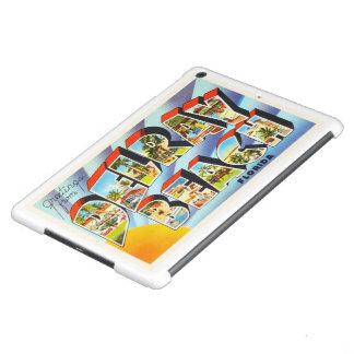 Recuerdo del viaje del vintage de Delray Beach la Carcasa iPad Air