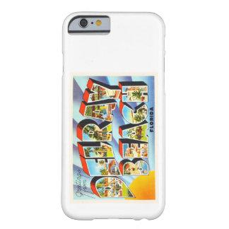 Recuerdo del viaje del vintage de Delray Beach la Funda Barely There iPhone 6