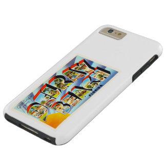 Recuerdo del viaje del vintage de Delray Beach la Funda Resistente iPhone 6 Plus