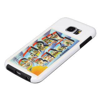 Recuerdo del viaje del vintage de Delray Beach la Funda Samsung Galaxy S6