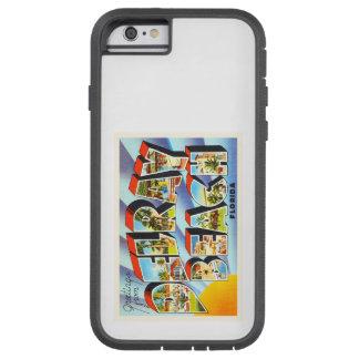 Recuerdo del viaje del vintage de Delray Beach la Funda Tough Xtreme iPhone 6