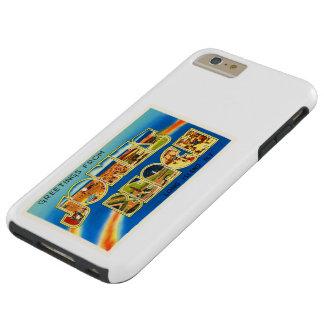 Recuerdo del viaje del vintage de Nueva York NY de Funda De iPhone 6 Plus Tough