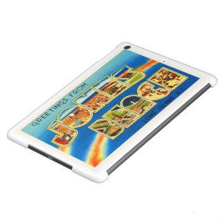Recuerdo del viaje del vintage de Nueva York NY de Funda Para iPad Air