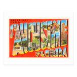 Recuerdo del viaje del vintage de St Augustine la Tarjetas Postales