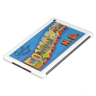 Recuerdo del viaje del vintage del ND de Bismarck Funda Para iPad Air
