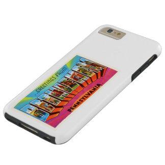 Recuerdo del viaje del vintage del PA de Belén Funda Resistente iPhone 6 Plus