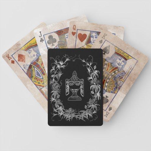recuerdo del victorian barajas de cartas