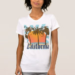 Recuerdo del vintage de California Tee Shirts