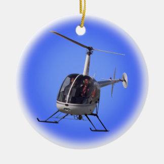 Recuerdo fresco del helicóptero del ornamento del  adornos