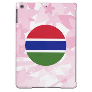Recuerdo gambiano bonito funda para iPad air