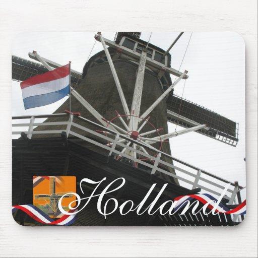 Recuerdo holandés Mousepad del texto de Holanda de Alfombrillas De Raton