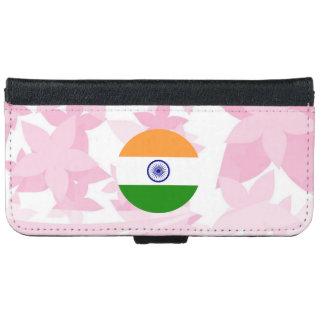 Recuerdo indio bonito funda cartera para iPhone 6