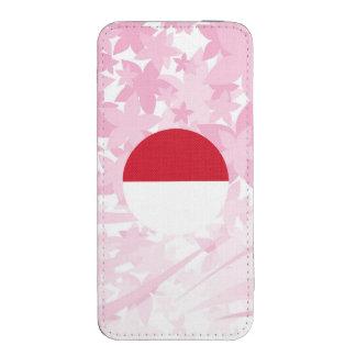 Recuerdo indonesio bonito funda para iPhone 5