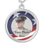 Recuerdo militar de la foto joyerias
