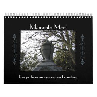 Recuerdo Mori Calendario De Pared
