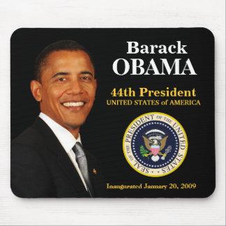 Recuerdo Mousepad de la inauguración de Obama Tapete De Raton