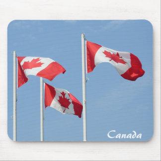 Recuerdo Mousepad de Mousepad Canadá de la bandera
