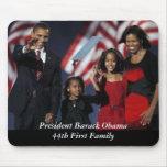 Recuerdo Mousepad de Obama Tapetes De Ratón