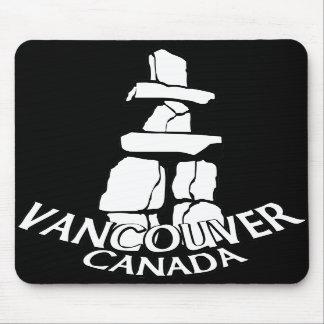 Recuerdo Mousepad Inukshuk de Vancouver Canadá Alfombrilla De Ratones