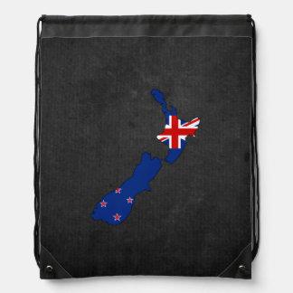 Recuerdo neozelandés del viaje mochilas