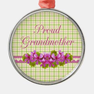 Recuerdo orgulloso de la abuela ornamentos para reyes magos
