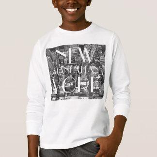 Recuerdo personalizado de las camisetas NYC de
