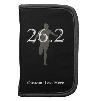 Recuerdo personalizado del corredor de maratón 26, planificadores