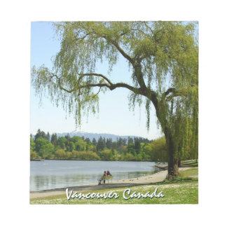 Recuerdo personalizado libreta de Vancouver Vancou Blocs De Notas