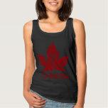 Recuerdo retro de Canadá de las camisetas sin