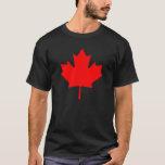 Recuerdo rojo de la hoja de arce de Canadá del Playera