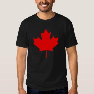 Recuerdo rojo de la hoja de arce de Canadá del Polera