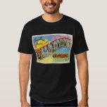 Recuerdo viejo del viaje del vintage de camisas