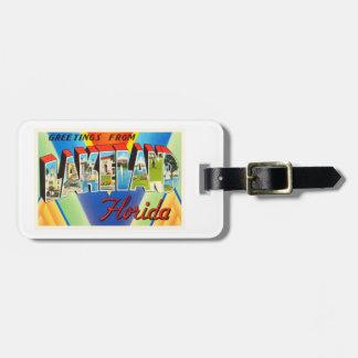 Recuerdo viejo del viaje del vintage de Lakeland Etiquetas Para Maletas