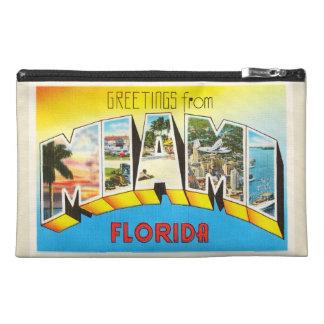 Recuerdo viejo del viaje del vintage de Miami la