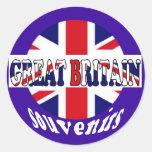 Recuerdos británicos Union Jack del turismo Pegatina
