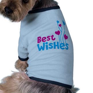 RECUERDOS con los globos del corazón del amor Camiseta Con Mangas Para Perro