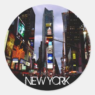 Recuerdos cuadrados de New York Times de los pegat
