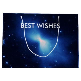 Recuerdos de la nebulosa del bumerán bolsa de regalo grande