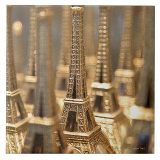 Recuerdos de la torre Eiffel Azulejo Ceramica