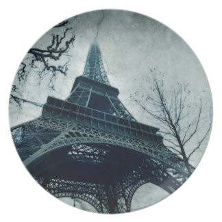 recuerdos de la torre Eiffel Platos