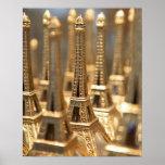 Recuerdos de la torre Eiffel Póster