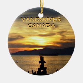 Recuerdos de Vancouver del ornamento de Vancouver  Ornamente De Reyes