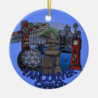 Recuerdos de Vancouver del ornamento de Vancouver  Ornamentos Para Reyes Magos