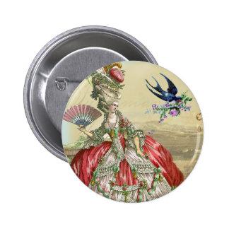 Recuerdos de Versalles 2 Pin Redondo De 2 Pulgadas